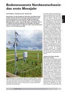 Titelbild Bodenmessnetz Nordwestschweiz: das erste Messjahr. Artikel UMWELT AARGAU, Nr. 65, August 2014
