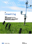 Titelbild Mit dem Zuger Feuchtemessnetz die Ressource Boden schonen